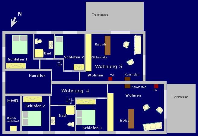 Wohnung 3 u. 4