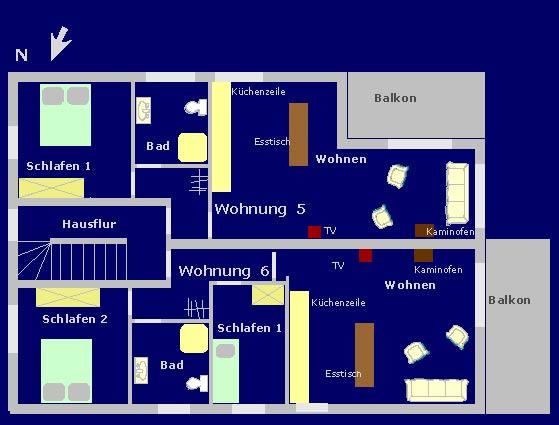 Wohnung 5 u. 6