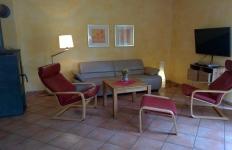 Das Wohnzimmer im EG Haus Pappelwald