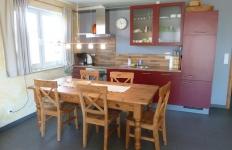 Die Küche in der Wohnung 4